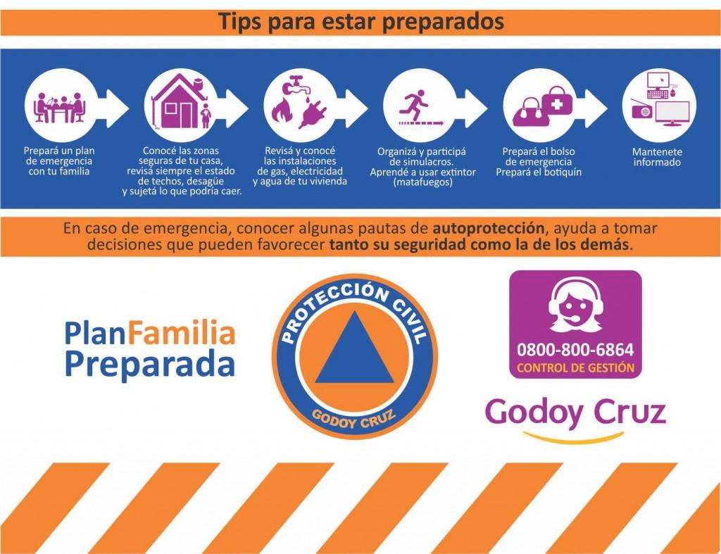 tips Protección Civil