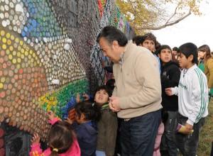 Godoy Cruz Realizara Un Mural Con Materiales Reciclables Por El Dia