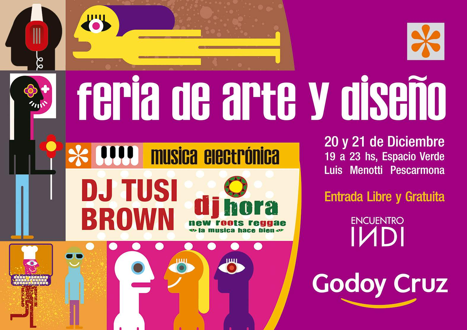 Todos Los Regalos De Navidad En La Feria De Arte Y Dise O Godoy Cruz # Muebles Godoy Cruz