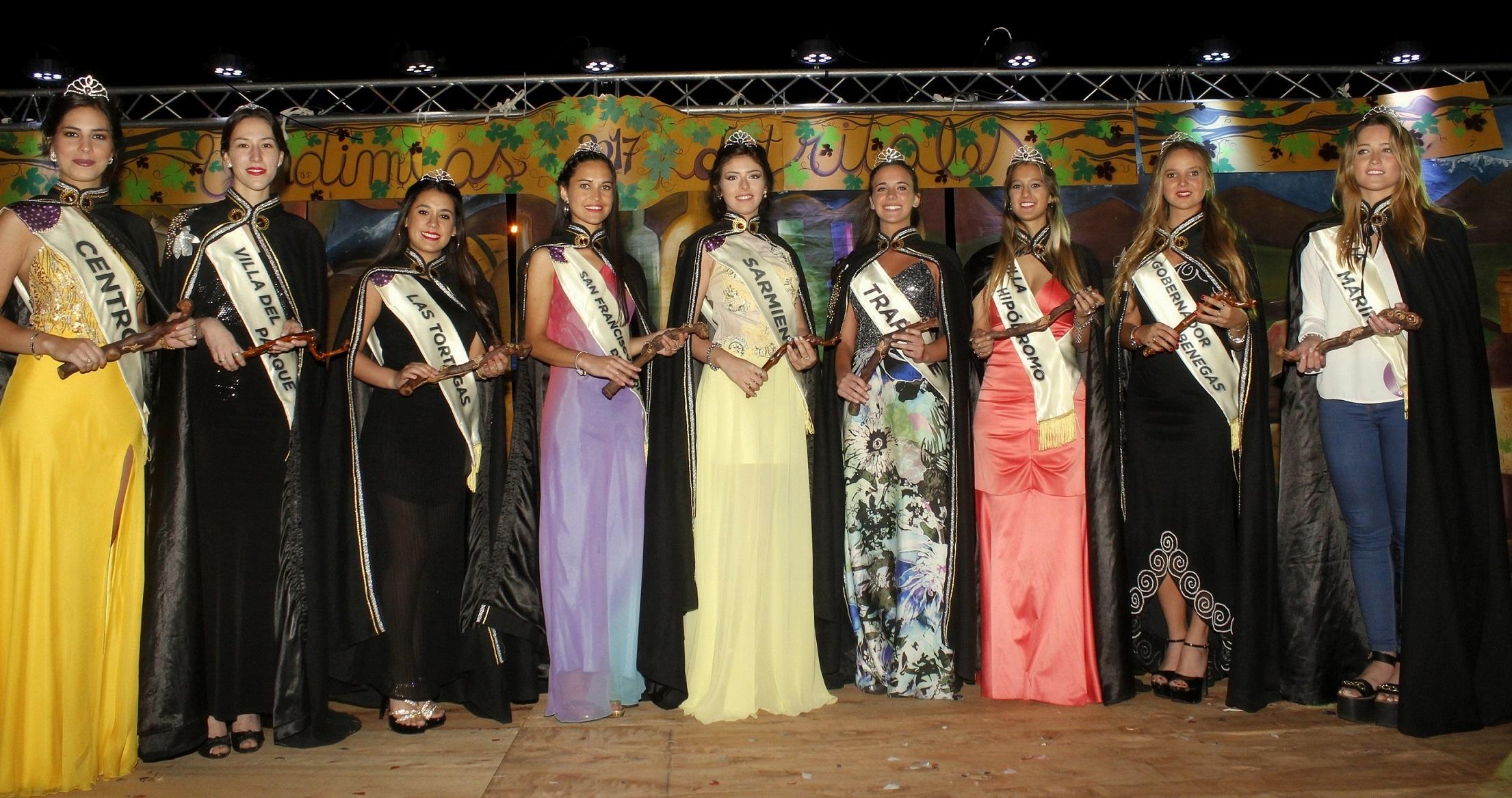 Godoy Cruz eligió a su corte de reinas para la Vendimia ...